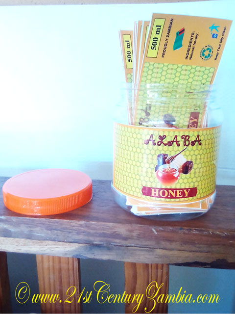 Alaba Honey Stickers