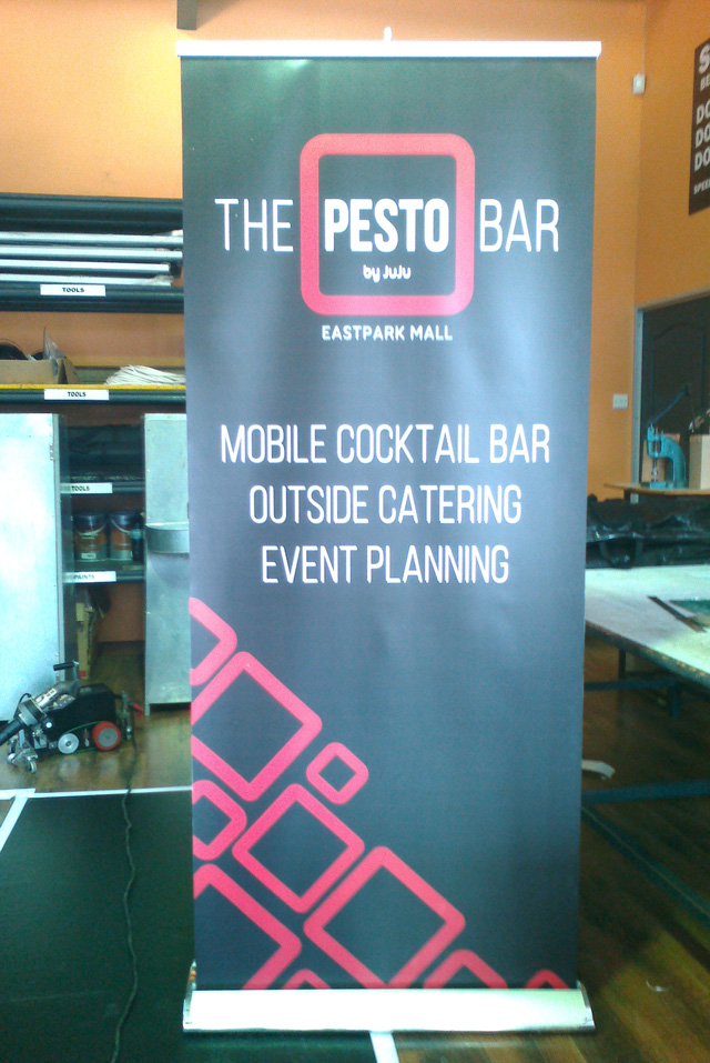 Pesto Bar pop up