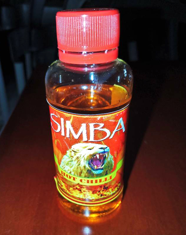 Simba Oil Stickers